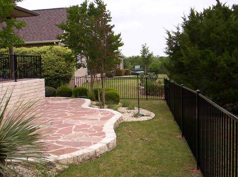 Ornamental Iron Fence Hill Country Fence Amp Power Gate
