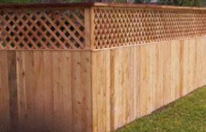 fencing_0004_Wood Fencing